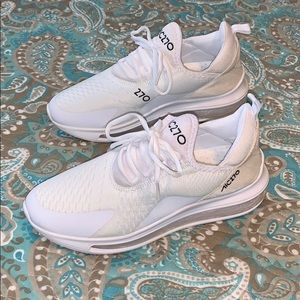 Other - AIC270 All white air sole sneakers